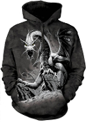 Black Dragon Hooded Sweatshirt