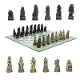 Vampire vs Werewolf Chess Set