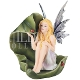Spring Fairy with Ladybug Statue