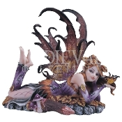 Autumn Fairy with Butterfly Statue