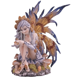 Sitting Fall Fairy Statue
