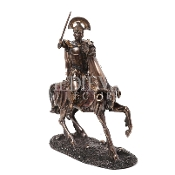Bronze Mounted Ares Statue