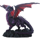 Red Winged Dragon Statue