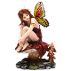 Dalia Butterfly Wing Fairy Statue