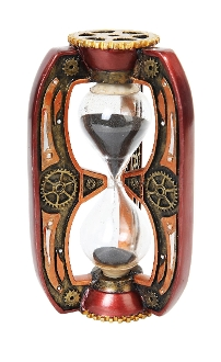 STEAMPUNK INSPIRED SAND TIMER