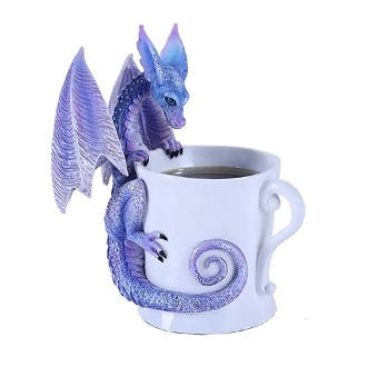 Amy Brown Purple Magical Dragon Tea Coffee Cup Whatcha Drinkin