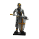 Medieval Knight Axeman Figurine