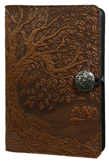 Brown Leather Tree of Life Journal
