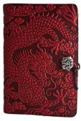 Red Leather Dragon Journal