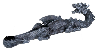 Growling Dragon Incense Burner