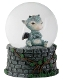 Sulky Dragon Water Globe