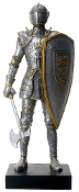 Royal Axeman Knight Statue