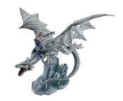 Ice Dragon with Fairy Rider