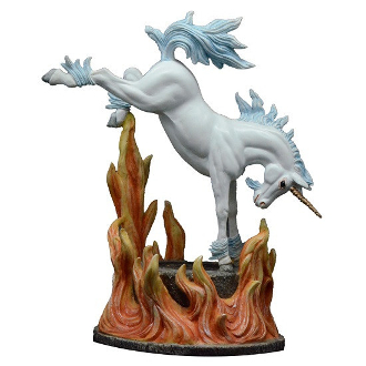 INFERNO (FIRE) UNICORN FIGURINE
