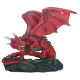Fiero Dragon Statue