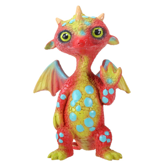 Gregory Waving Dragonling Statue