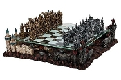 Fantasy Good Vs. Evil 3D Chess Set