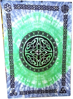 Shield Knot Tapestry