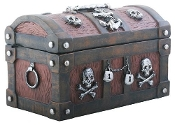 PIRATES SKULL BOX