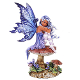 Violet Faery Figurine by Amy Brown