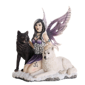 Ebony & Ivory Fairy