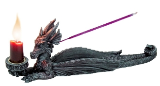 DRAGON CANDLE INCENSE BURNER