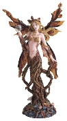 Autumn Dryad Fairy Statue