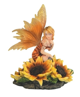 Sunflower Fairy Figurine
