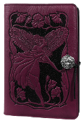 Purple Leather Fairy Journal