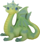 Green Baby Dragon Fiona