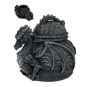 DRAGON LIDDED JAR
