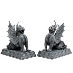 Gargoyle Bookend Set